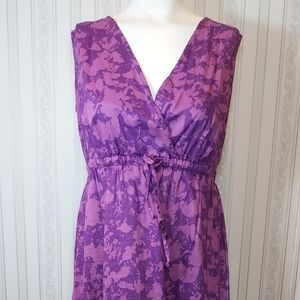 100% Cotton Eddie Bauer fully lined dress